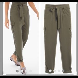 Chico's Pants - Chico's Ultimate Fit tie waist utility ankle pants